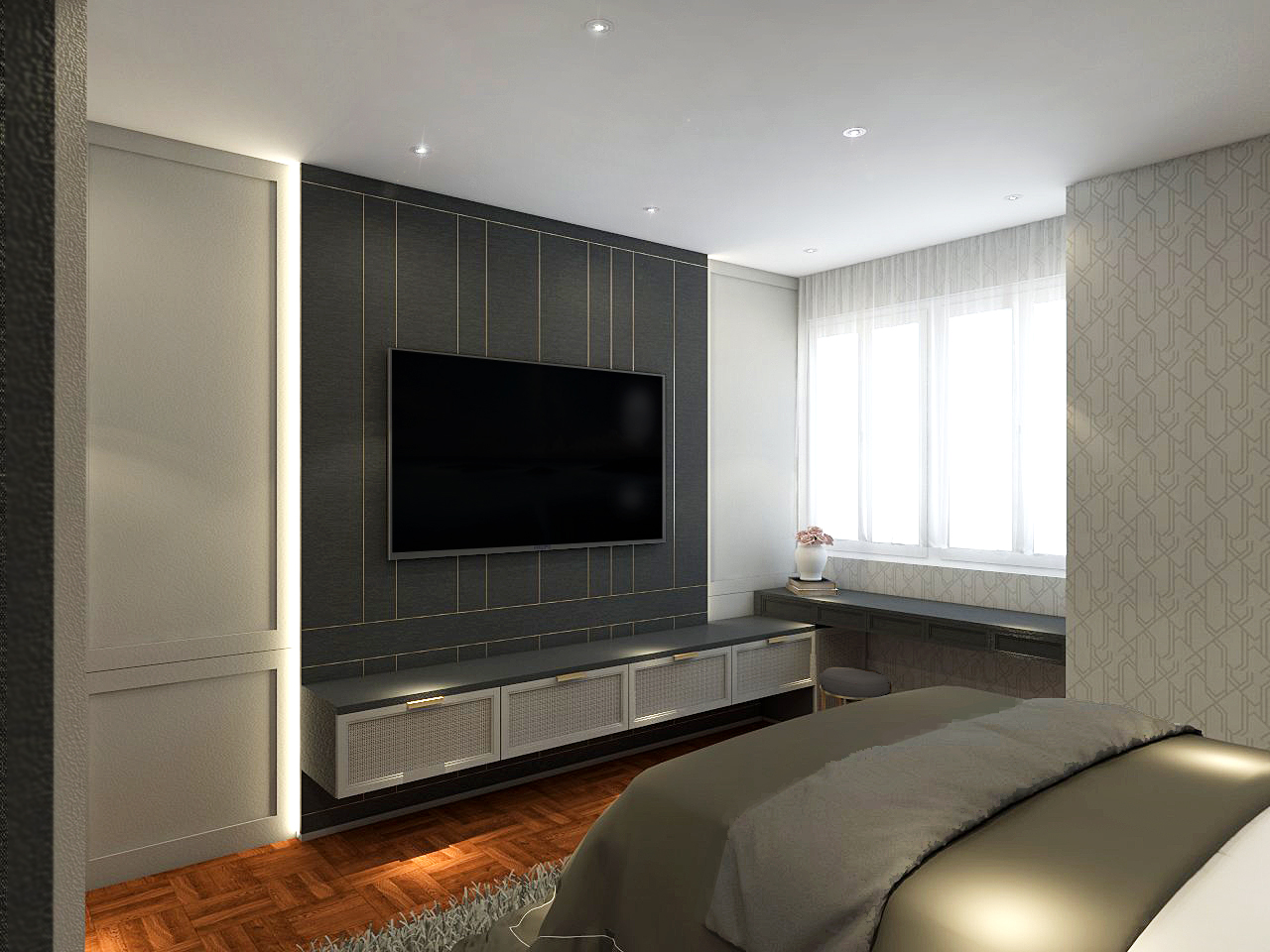 Master Bedroom Design and Renovation