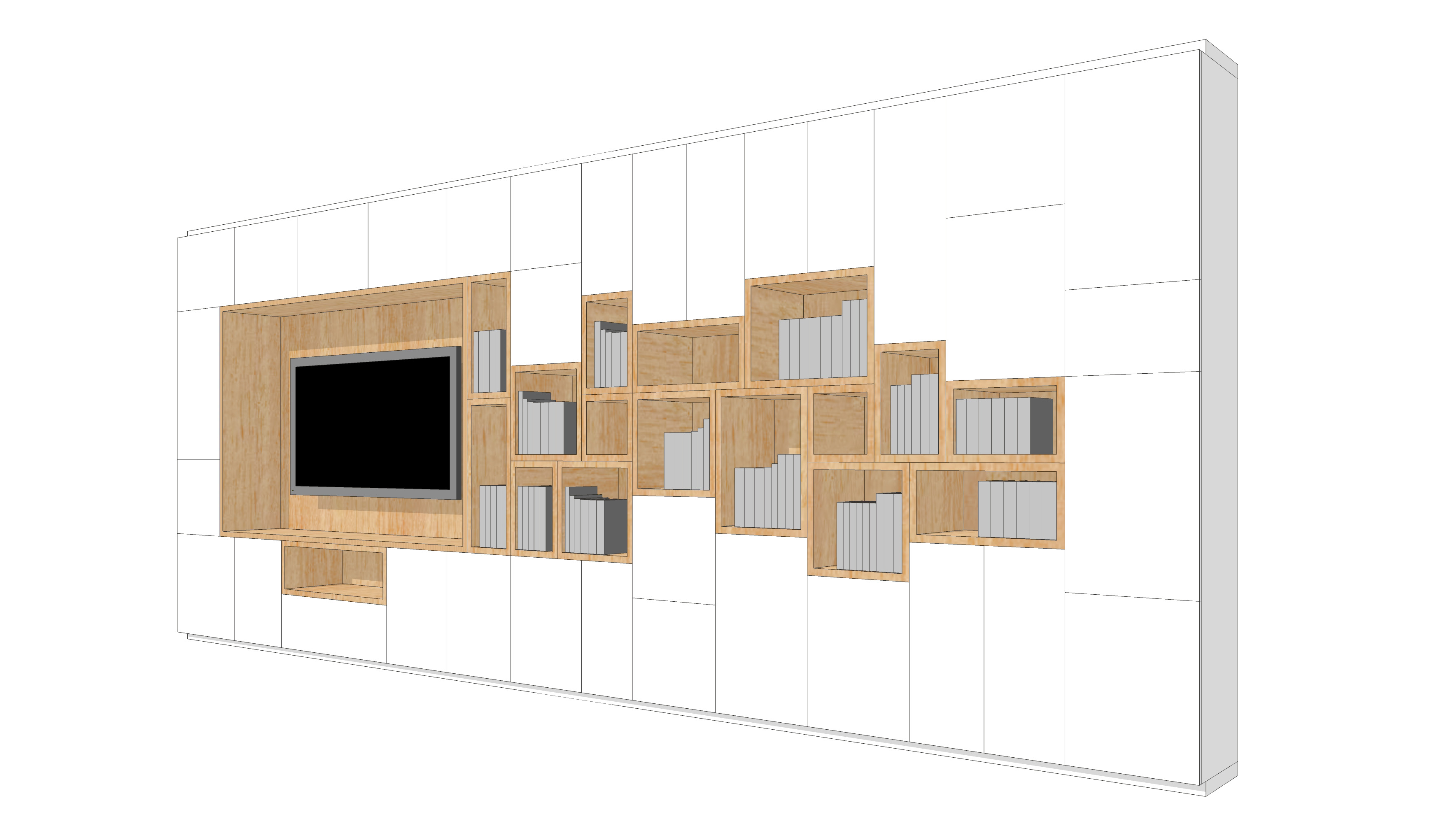 wall storage-cells-snow-side 2