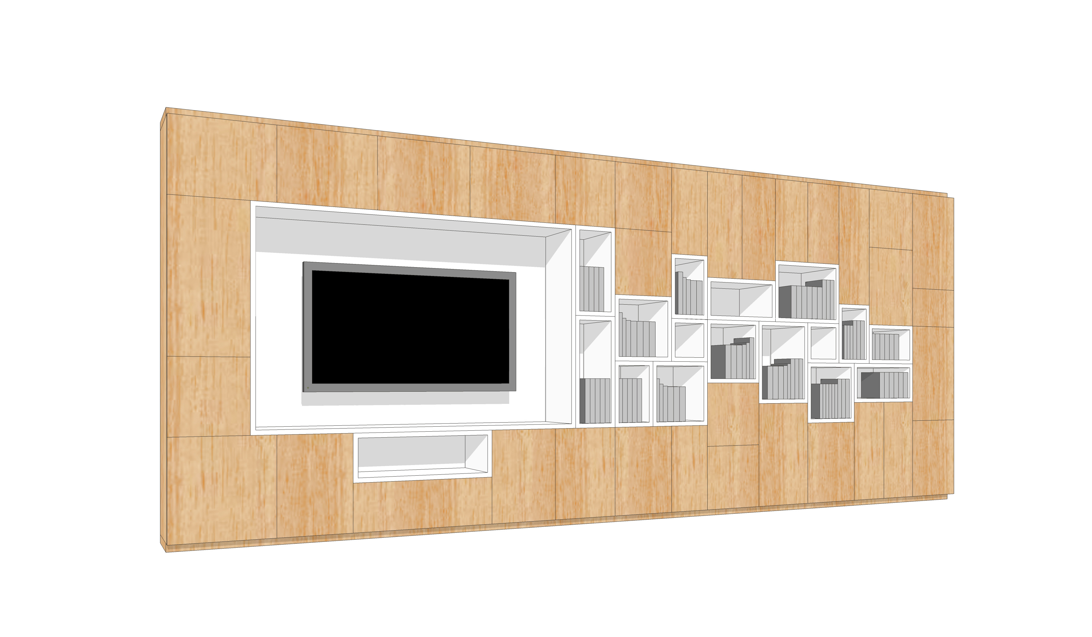 wall storage-cells-wood-side 1