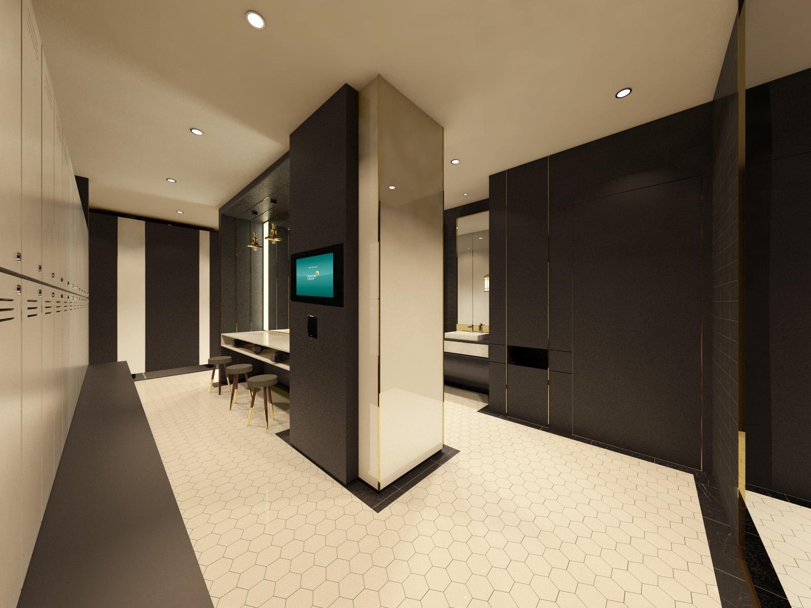NEC Locker room