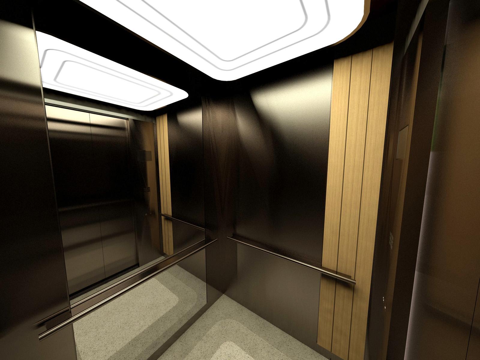 NEC Lift interior